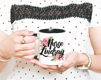 Nurse Mug, RN Mug - Nurse Coffee Mug - Registered Nurse Mug - Gift for Nurse - Nurse Appreciation - Nurse Graduation