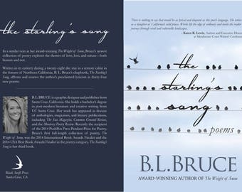 Custom Book Cover Design (Print) - Includes Front Cover, Back Cover & Spine