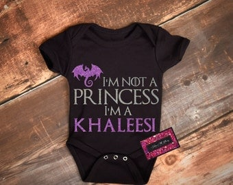 Geek Baby Onesie - Kahleesi Game Of Thrones