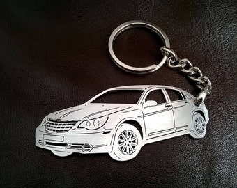 Chrysler Personalized Key Chain, Chrysler keychain, Chrysler, Stainless Steel Keyring, personalised keyring, fathers day gift