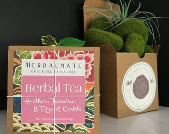 Heather, Jasmine, and Rose of Castile - Woman Tea / Té Herbal Para la Mujer