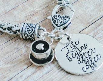 Coffee Bracelet, Coffee Jewelry, Coffee Gift, Coffee Cup, Coffee Mug, Life After Coffee, Coffee Time, Coffee Lover Gift, I Need Coffee