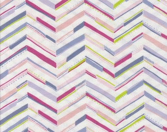Chevron - Per Yd - Katy Tanis - Blend Fabrics - Sundaland Jungle