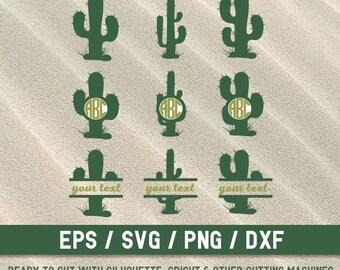 Cactus svg, svg  Cactus, svg file, Cactus cut file, cut file, Cactus svg files, Cactus monograms svg,Cactus svg file for Silhouette