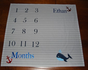 Baby milestone blanket personalized baby milestone milestone blanketcustom milestone blanketpersonalized baby blanketbaby showergiftbaptism gift negle Gallery