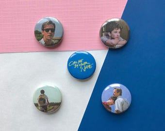 """Call Me By Your Name 1"""" Pinback Buttons"""