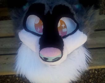 Luna wolf fursuit partial ** on hold till the 20th**