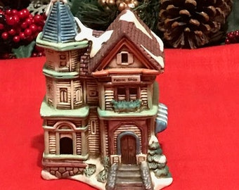Little Ceramic House by Vigor Holiday's Decor Collections Houses