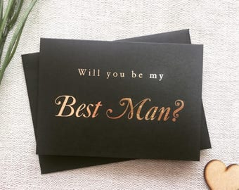Will you be my best man card, best man card, card for best man