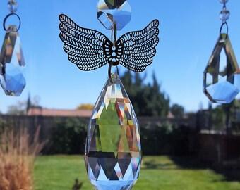 Crystal Angel Ornament Sun Catcher