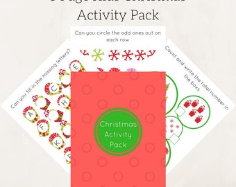Educational printables , Christmas kids games Worksheets Activities