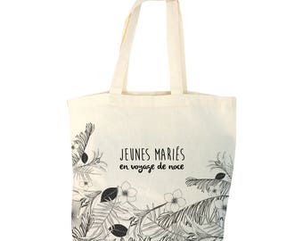 Tote bag personalize wedding