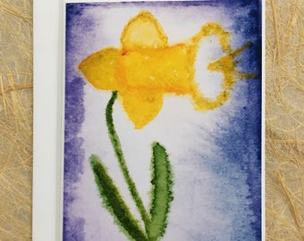 ttams - greeting card with envelope - daff - blank