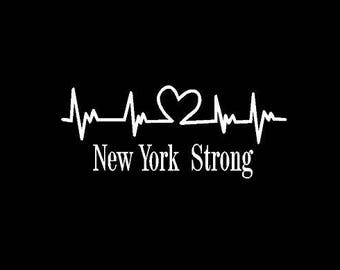 New York Strong Decal *FREE SHIPPING*