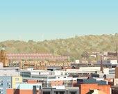 Sheffield Skyline Panoram...