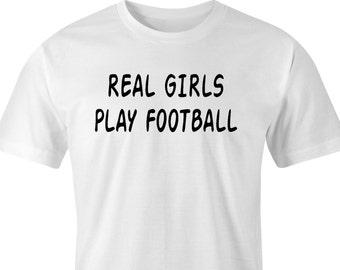 Girls football print, Football t-shirt, Football fans print, Ladies Football t-shirt, Football team print, Girls Football, Football print.