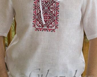 Ukrainian embroidered shirt, Vyshyvanka Ukrainian shirt for men