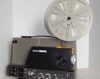 Sankyo Sound - 600 Super 8mm/Single 8mm Movie Projector - Free Shipping