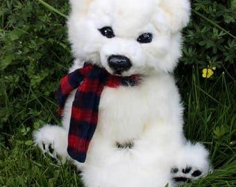 LARGE white - ArtDoll - toy