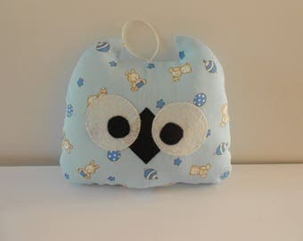 "SMALL decorative OWL ""Blankie"" for child"