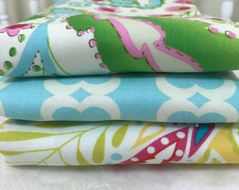 Baby Burp Cloth Set, Kumari Gardens Burp Cloth Set, Baby Girl Shower Gift, Personalized Baby Shower Gift, Baby Girl Burp Cloth Set