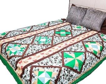 Green Love Quilt