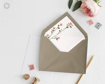 Envelope Liners, Printable Liner, Pink Envelope Liner, Floral Envelope Liner, Envelope Liner, A7 Envelope Liner, Instant Download, #GPW