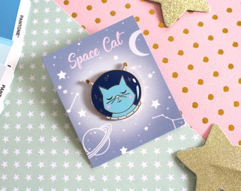 Pin's-Chat Astronaute