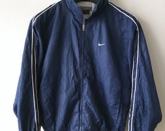Vintage Nike Hidden Hoodie Nylon jacket