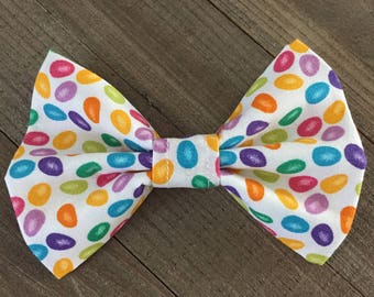 Jelly Bean Bow Tie, Dog/Cat Bow Tie, Pet Accessories, Pet Bow Ties