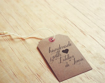 Stamp pad handmade with love - creative stamp