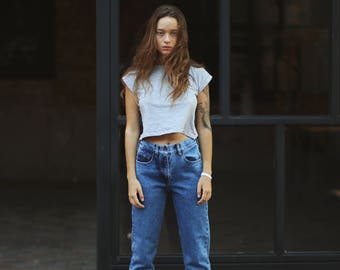 Boyfriend Jeans, Mom Jeans, Denim Jeans, Vintage Jeans, Jeans, Womens Jeans, 80s 90s Jeans, Vintage Jeans, Dark Jeans, Ripped Jeans, Denim