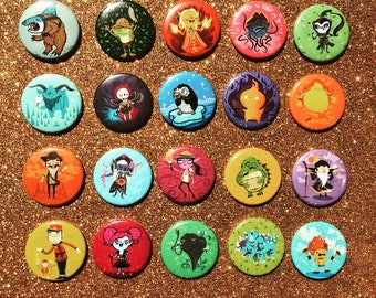 Build Your Own Hearthstone Button Set   Hearthstone Magnet Set   Hearthstone Art