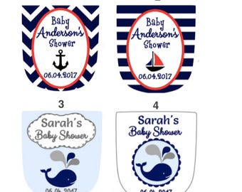 Custom Treat bag toppers - Nautical