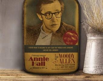 Annie Hall, Woody Allen, Wooden plaque