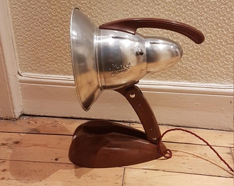 Large Alpisol lamp by Hanau: rewired and in superb condition