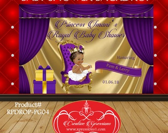 Royal Purple Gold Etsy