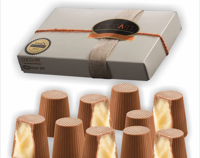 White Velvet Chocolate Truffles , gourmet Chocolate gift, Hanukah foodie gift, kosher chocolate gift, gourmet gift