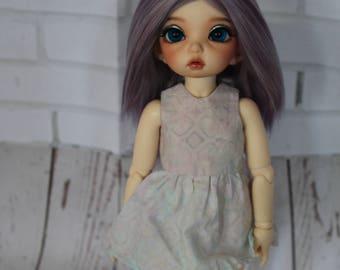 Lilac  Alpaca Wig for Littlefee and similar size YoSD dolls head