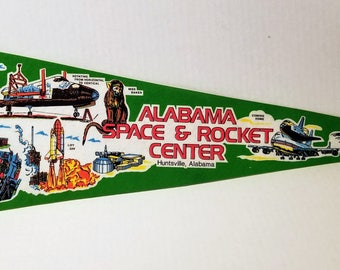 Alabama Space & Rocket Center - Vintage Pennant