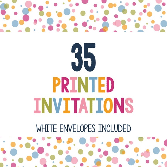35 printed invitations professionally printed invitations print