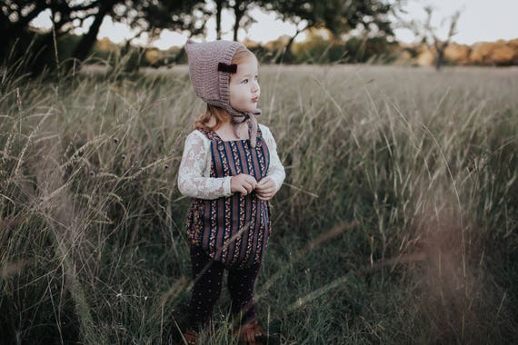 Baby Thanksgiving Outfit, Bubble Romper, Vintage Inspired Romper, Retro Baby Romper, Toddler Fall Outfit First Thanksgiving Outfit Baby Girl
