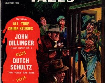 Murder Tales Vol. 1  #10 November 1970 WF Periodicals True Crime Comic VF