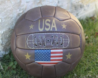 USA - Vintage Flag Soccer ball