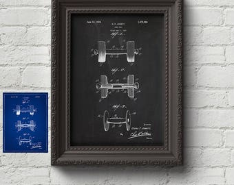 Dumb Bell 1928 Patent Print - Weight lifting Gift, Gym Gift, Vintage, Retro, Art Print, Wall Art, Art, Cute Gift