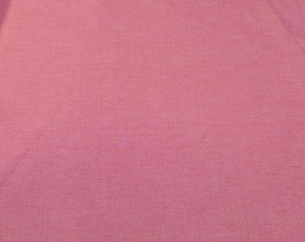 Interweave Chambray-Strawberry-Cotton Fabric from Robert Kaufman