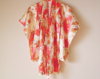 Vintage Japanese Kid's Kimono / For 3 years old