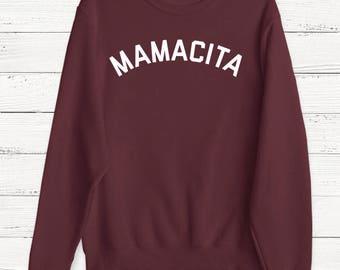 Mamacita Sweater - Mama Sweater - Mother's Day Sweater - Mom Sweater - Mom Life Sweater - Wife - Gift For Mom