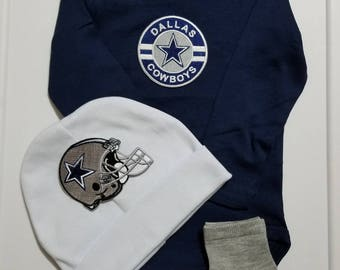 Dallas cowboys baby outfit-cowboys for baby-dallas cowboy baby shower gift-baby cowboys-dallas cowboys for baby-dallas cowboys baby gift