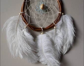 Dream catcher and angel hair